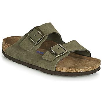 Schuhe Damen Pantoffel Birkenstock ARIZONA SFB Kaki