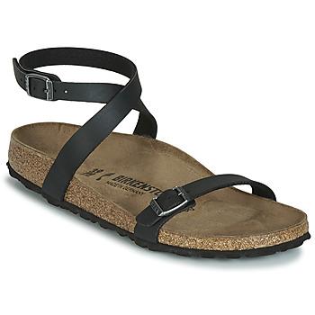 Schuhe Damen Sandalen / Sandaletten Birkenstock DALOA Schwarz