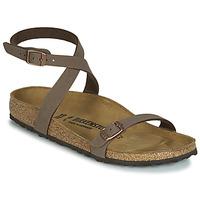 Schuhe Damen Sandalen / Sandaletten Birkenstock DALOA Braun
