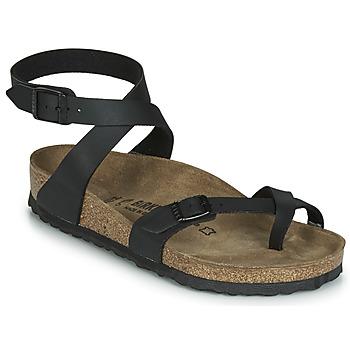 Schuhe Damen Sandalen / Sandaletten Birkenstock YARA Schwarz
