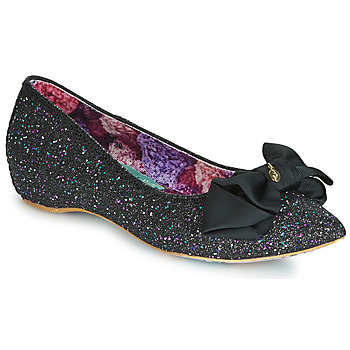 Schuhe Damen Ballerinas Irregular Choice MINT SLICE Schwarz
