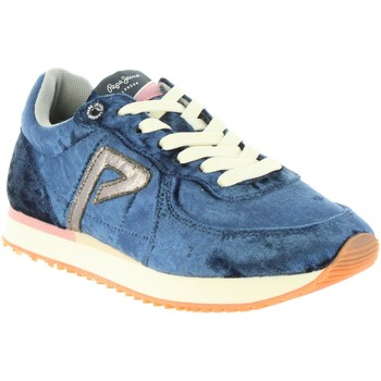 Schuhe Mädchen Multisportschuhe Pepe jeans PGS30362 SYDNEY 574 JARMAN Azul