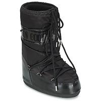 Schuhe Damen Schneestiefel Moon Boot MOON BOOT GLANCE Schwarz