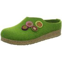 Schuhe Damen Hausschuhe Haflinger gras 731023-36 1079090084 grün