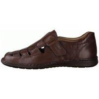 Schuhe Herren Slipper Sioux Slipper Elcino 30541 braun