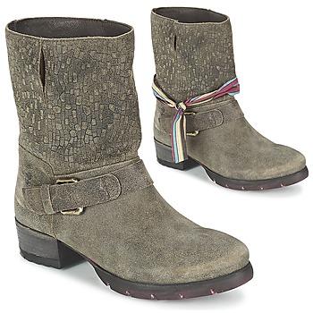 Schuhe Damen Boots Felmini RARSA Braun