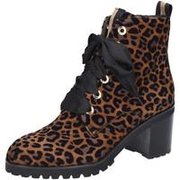 Schuhe Damen Low Boots Maripé Stiefeletten 27671-9897 Leo 27671-9897 braun