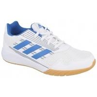 Schuhe Kinder Sneaker Low adidas Originals ALTARUN K FTWR WHITE/BLUE/MID GREY Weiß