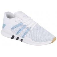 Schuhe Damen Sneaker Low adidas Originals EQT RACING ADV W FTWR WHITE / ASH BLUE S18 / CORE BLACK Weiß