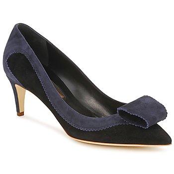 Schuhe Damen Pumps Rupert Sanderson BESSIE Blau / Schwarz