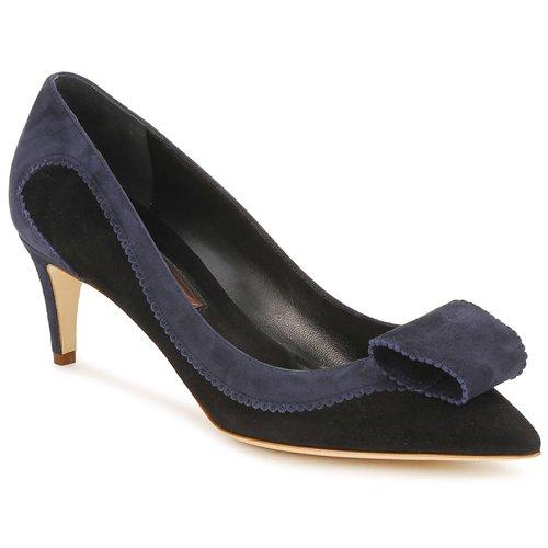 Rupert Sanderson BESSIE Blau / Schwarz  Schuhe Pumps Damen 439,20