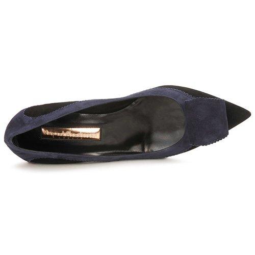 Rupert Sanderson  BESSIE Blau / Schwarz  Sanderson Schuhe Pumps Damen 384,30 aa61d1