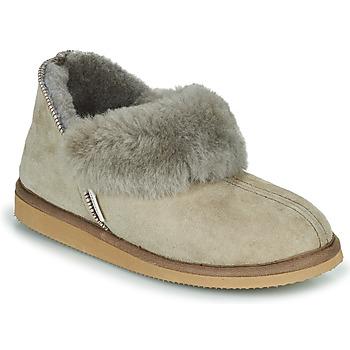 Schuhe Damen Hausschuhe Shepherd KARIN Grau