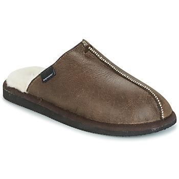 Schuhe Herren Hausschuhe Shepherd HUGO Braun
