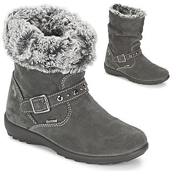 Schuhe Mädchen Klassische Stiefel Primigi GLOSSY GORETEX Grau