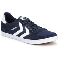 Schuhe Sneaker Low Hummel TEN STAR LOW CANVAS Marine