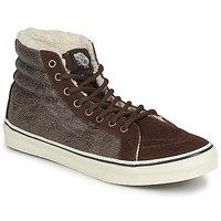 Schuhe Damen Sneaker High Vans CHUKKA SLIM Braun
