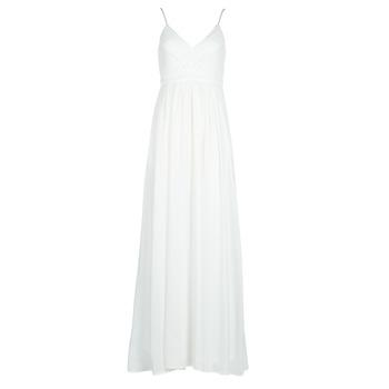 Kleidung Damen Maxikleider Betty London VICTOIRE Weiss