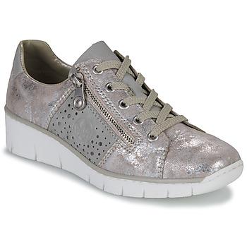 Schuhe Damen Sneaker Low Rieker RIKTUS Gold