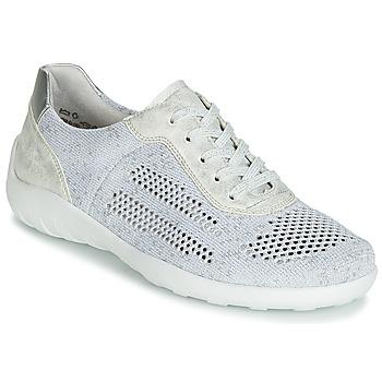 Schuhe Damen Sneaker Low Remonte Dorndorf ZERBA Silbern