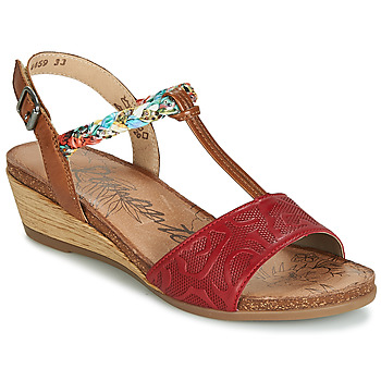 Schuhe Damen Sandalen / Sandaletten Remonte Dorndorf MIJUS Rot