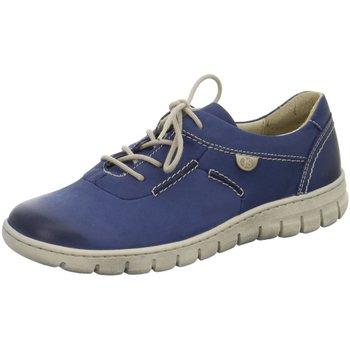 Schuhe Damen Sneaker Low Diverse Schnuerschuhe STEFFI SON 07-Schnürer 93107751/500 blau