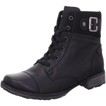 Schuhe Damen Low Boots Remonte Dorndorf Stiefeletten D4368-01 schwarz