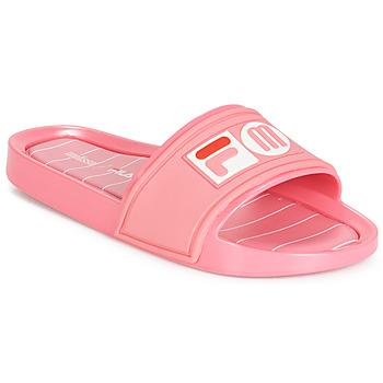 Schuhe Damen Pantoletten Melissa SLIDE + FILA Rose