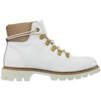 Schuhe Damen Boots Caterpillar Handshake W Weiß, Beige