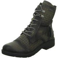 Schuhe Damen Boots Bugatti Stiefeletten P5 421328301269-1111 grau
