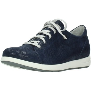 Schuhe Damen Sneaker Low Wolky Schnuerschuhe NV 0242020800 - blau
