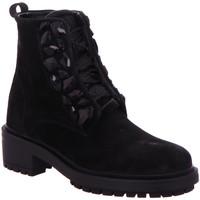 Schuhe Damen Boots Alpe Stiefeletten -55 3867-1105 schwarz
