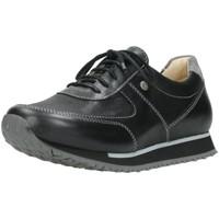 Schuhe Damen Sneaker Low Wolky Schnuerschuhe E Sneaker Stretch-Leoa leathe 0580670/070 070 schwarz