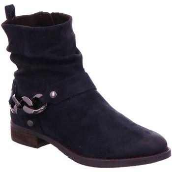 Schuhe Damen Low Boots Spm Shoes & Boots Stiefeletten Nevain Ankle Boot 06099177-004 blau