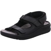 Schuhe Herren Sandalen / Sandaletten Mephisto Offene Valden 11900 schwarz