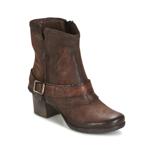 Dream in Green VINEL Kaffee  Schuhe Low Boots Damen 99,99