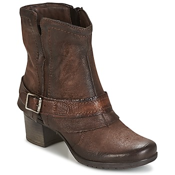 Stiefelletten / Boots Dream in Green VINEL Kaffee 350x350