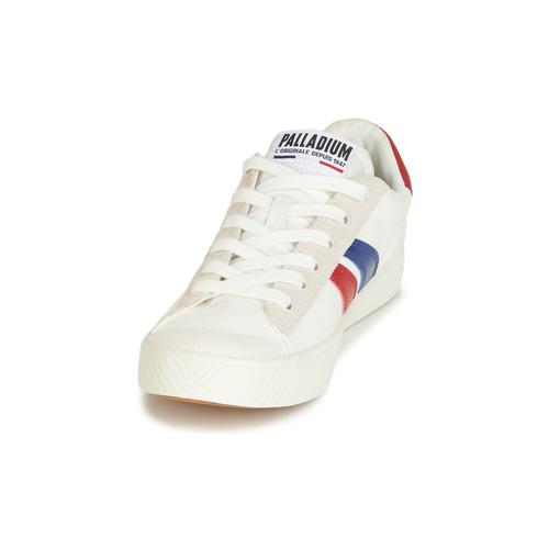 Palladium Pallaphoenix Flame C Weiss - Kostenloser Versand Schuhe Sneaker Low tdPdtkpl
