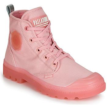 Schuhe Damen Boots Palladium PAMPALICIOUS Rose