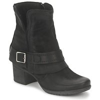 Schuhe Damen Low Boots Dream in Green VINEL Schwarz