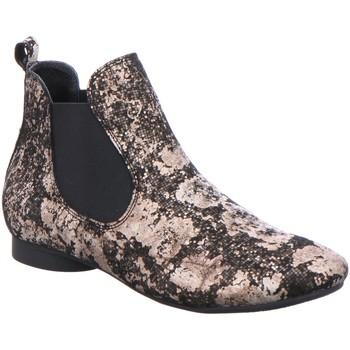 Schuhe Damen Boots Think Stiefeletten GUAD 03-Chelsea 2-82292-09 schwarz