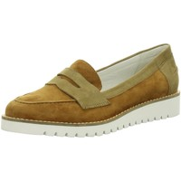 Schuhe Damen Slip on Regarde Le Ciel Slipper Bernadette 01 bernadette-01-2282 braun