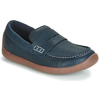 Schuhe Kinder Slipper Clarks ArtistStride K Marine
