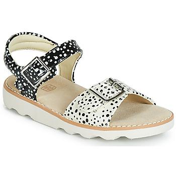 Schuhe Mädchen Sandalen / Sandaletten Clarks Crown Bloom T Schwarz