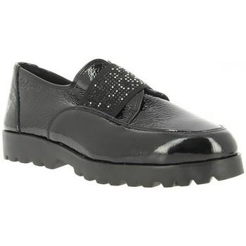 Schuhe Damen Slipper 24 Hrs 24 Hrs 23758 Schwarz Schwarz