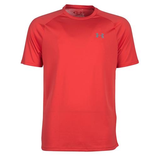 Kleidung Herren T-Shirts Under Armour TECH 2.0 SS TEE Rot
