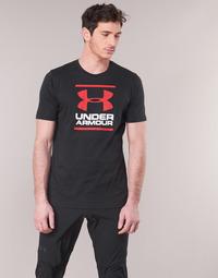 Kleidung Herren T-Shirts Under Armour GL FOUNDATION SS Schwarz