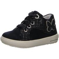 Schuhe Mädchen Sneaker Low Superfit Maedchen MOPPY,BLAU 4-09361-80 80 blau