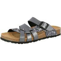 Schuhe Damen Sandalen / Sandaletten Lico Bioline gleam silberfarben