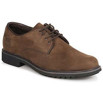 Schuhe Herren Derby-Schuhe Timberland EK STORMBUCK PLAIN TOE OXFORD Braun